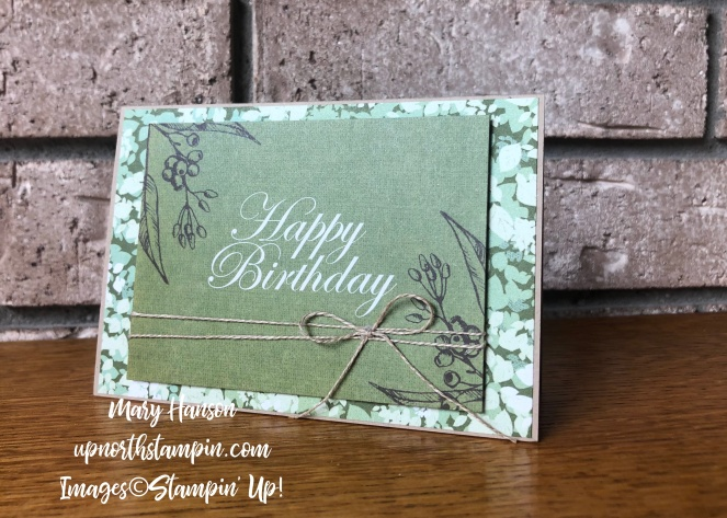 Magnolias and More Memory Pack 4 - Mary Hanson - Up North Stampin' Stampin' Up!