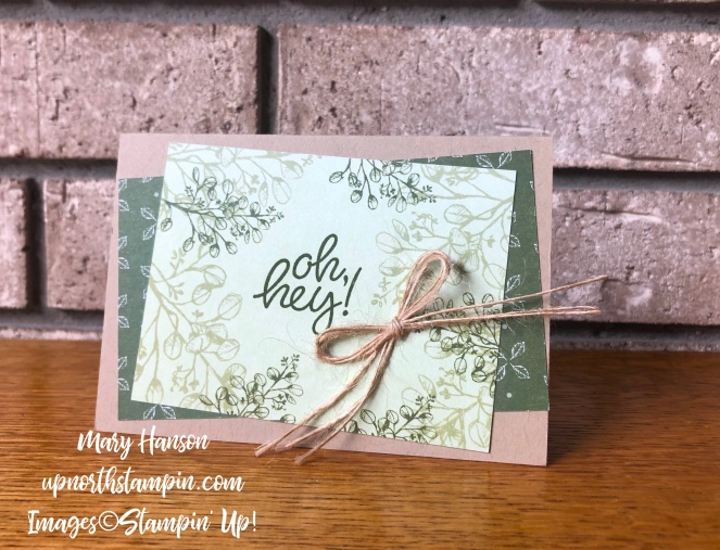 Magnolias and More Memory Pack 5 - Mary Hanson - Up North Stampin' Stampin' Up!