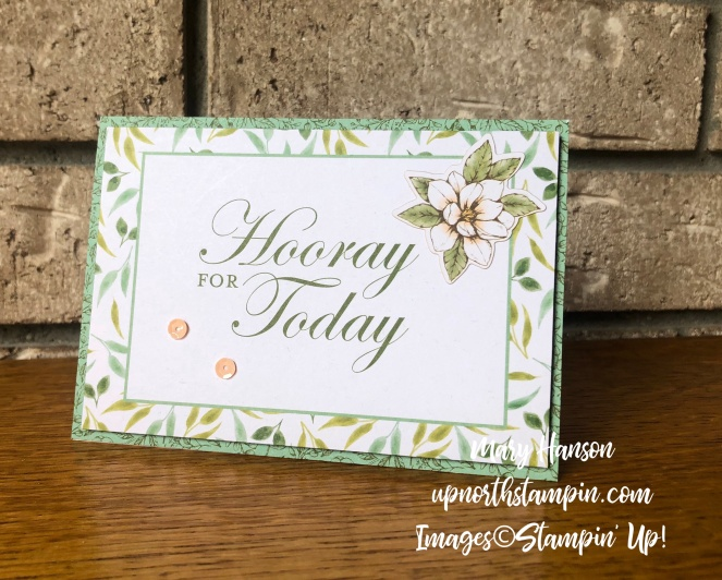 Magnolias and More Memory Pack 6 - Mary Hanson - Up North Stampin' Stampin' Up!