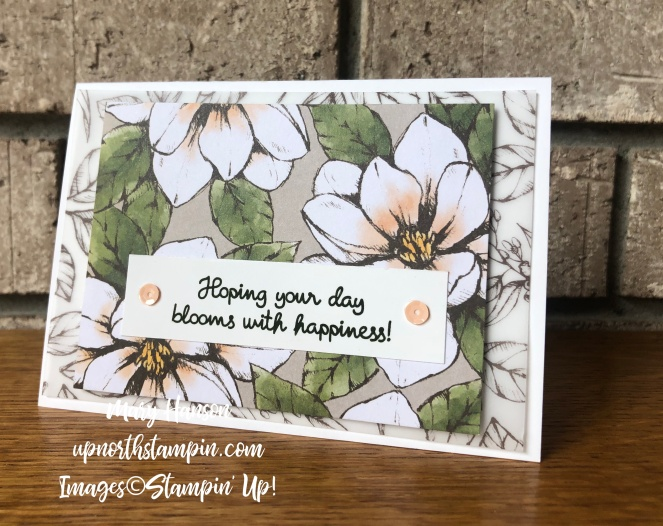 Magnolias and More Memory Pack 8 - Mary Hanson - Up North Stampin' Stampin' Up!