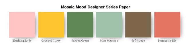 Mosaic Mood Designer Series Paper