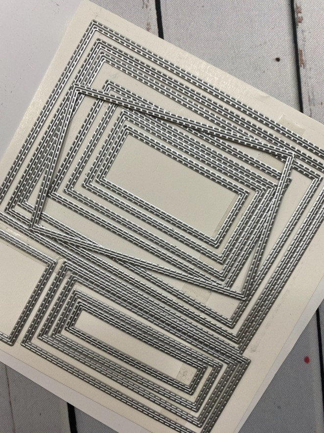 Rectangle Stitched Framelits