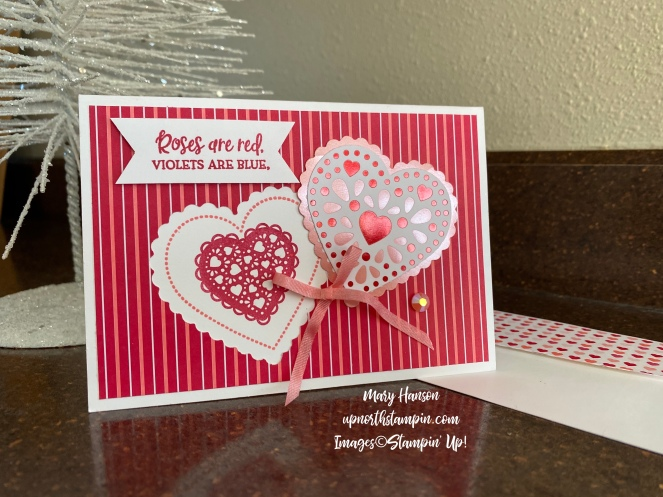 From My Heart Suite 2 - Mary Hanson - Up North Stampin' - Stampin' Up!