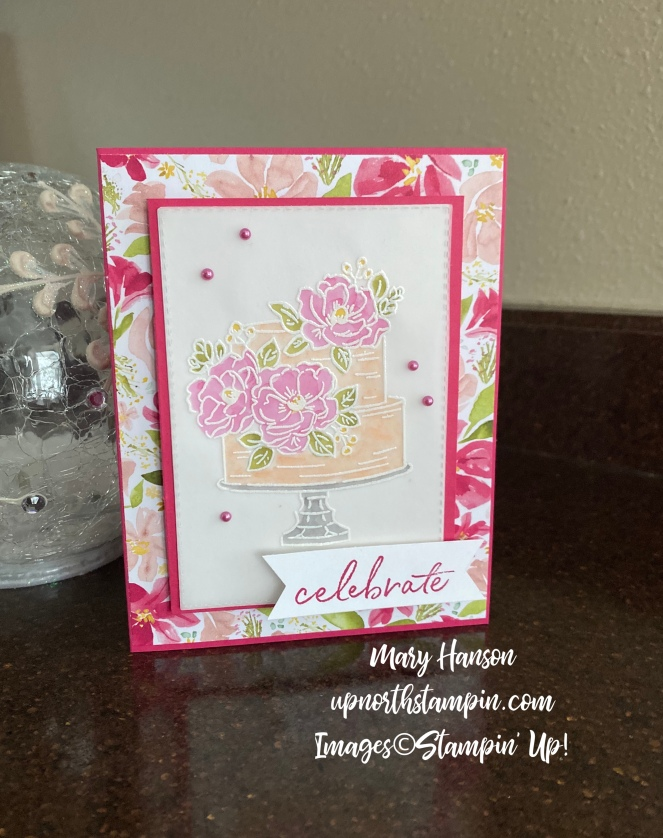Happy Birthday to You - Best Dressed Designer Series Paper - Mary Hanson - Up North Stampin' - Stampin' Up!