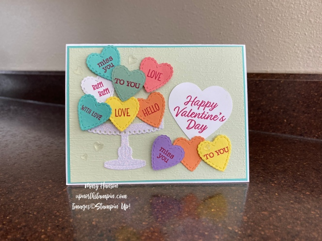 Heartfelt Bundle - Meant to Be Bundle - Birthday Dies - Close Up - Mary Hanson - Up North Stampin' - Stampin' Up!