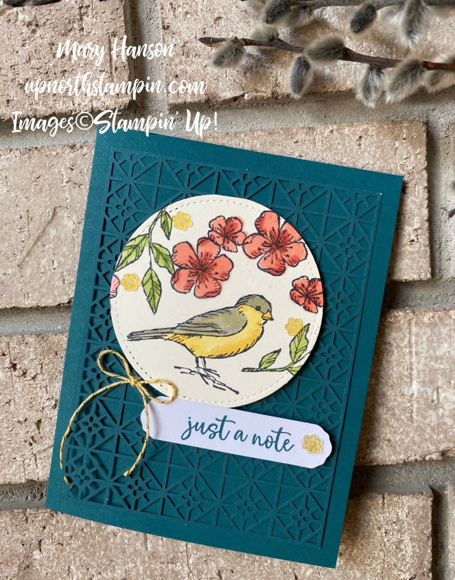 Botanical Prints Medley - Bird Ballad Suite - Music From the Heart - Mary Hanson - Up North Stampin'