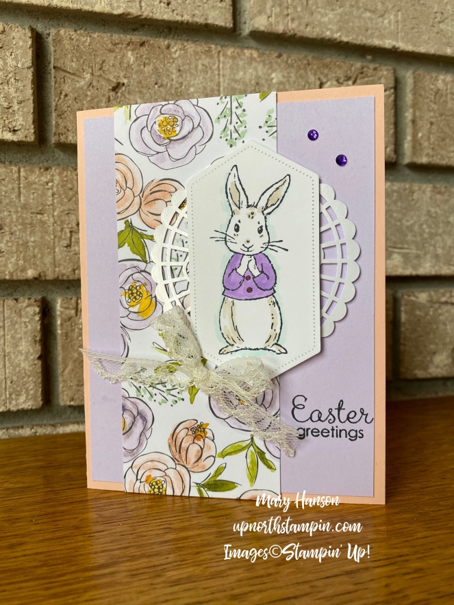 Fable Friends - Best Dressed Designer Series Paper - Petal Pink - Mary Hanson - Up North Stampin'