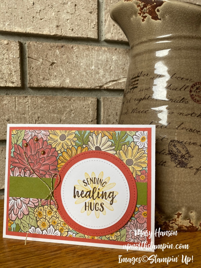 Ornate Garden - Challenge - Mary Hanson - Up North Stampin