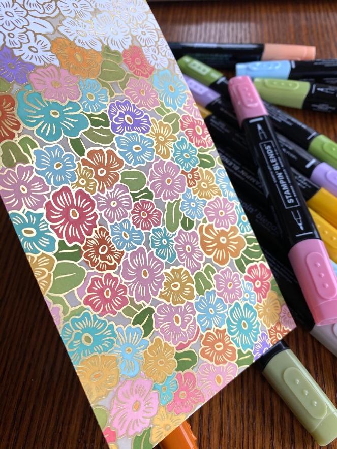 Ornate Garden Designer Series Paper - Stampin' Blends - Mary Hanson - Up North Stampin'