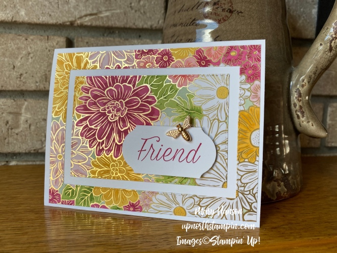 Ornate Gardens Designer Series Papers - Hearth - Lovely Lipstick - Daisy Lane - Mary Hanson - Up North Stampin'