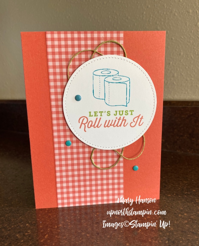 Share Sunshine - Let's Roll With It - 2018-2020 In Colors - Mary Hanson - Up North Stampin'