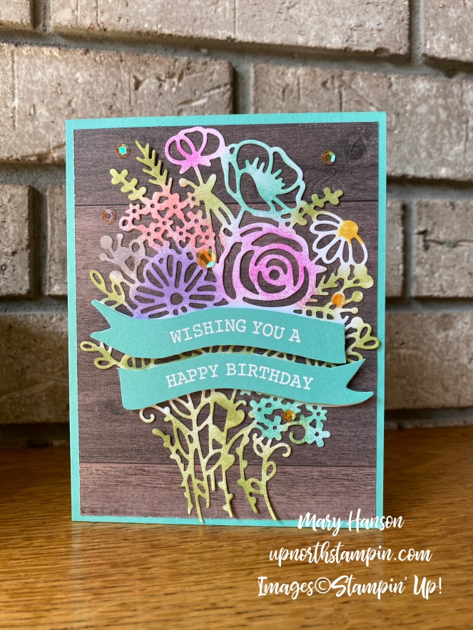 Artistry Blooms Bundle - Coastal Cabana - Mary Hanson - Up North Stampin'