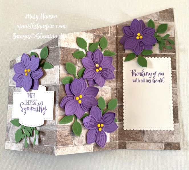 Floral Essence - Full - In Good Taste DSP - Peaceful Moments - Mary Hanson - Up North Stampin'