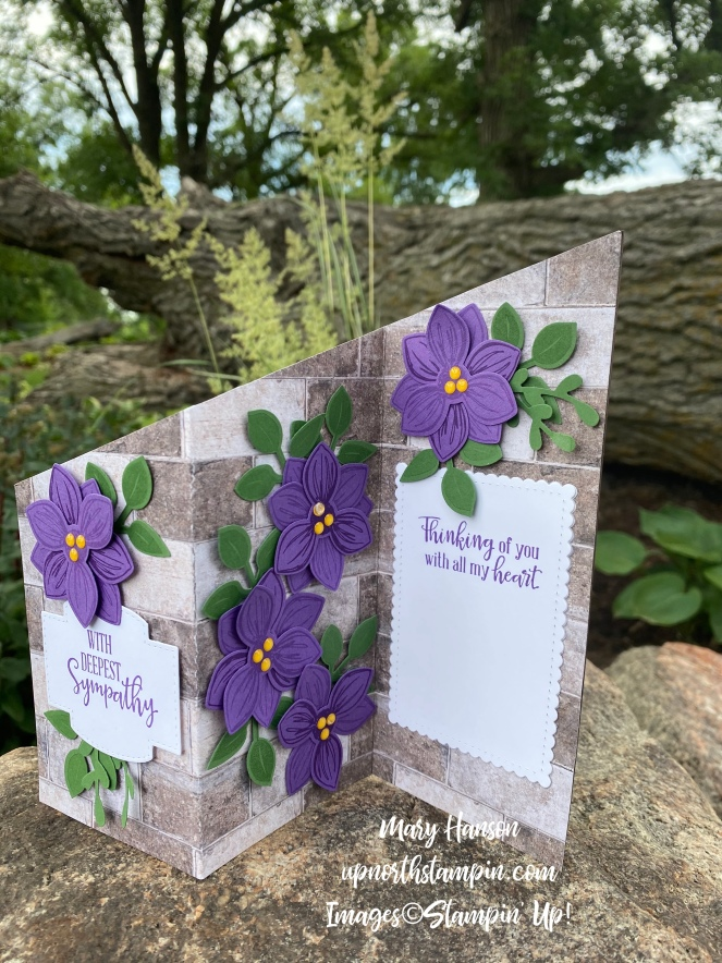 The Floral Essence Bundle - Pals Blog Hop - Mary Hanson - Up North Stampin