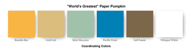 _World's Greatest_ Paper Pumpkin