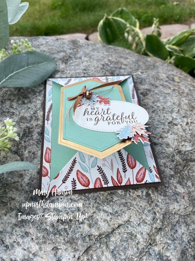 Beautiful Autumn Suite - Rock - Open - Mary Hanson - Up North Stampin'