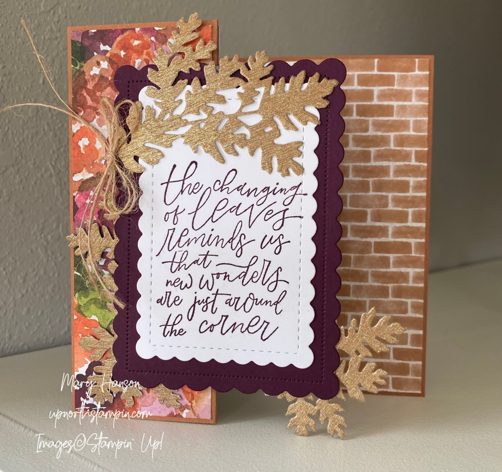 The Latest in Stampin' Up – Up North Stampin'